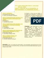 Declaracion Dialogo Social 2008