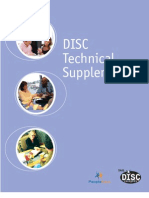 Disc Technical Supplement