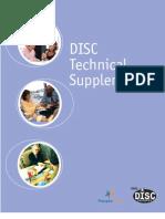 Disc Technical Supplement