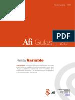 Guía sobre fiscalidad de Renta Variable