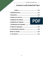 FAN COIL MEDIA ESTATICA service manual.en.es