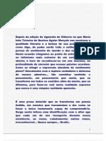 SONETOS DE MARIA INÊS TEIXEIRA DE QUEIROZ AGUIAR MARÇALO.