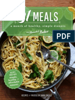 31 Meals Cookbook - 31 Healthy, Simple Dinners