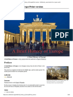 Brief History of Europe_Print Version - Wikibooks, Open Books for an Open World