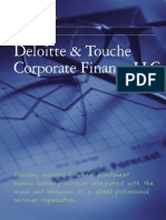 Deloitte-FAS Corporate Finance Brochure