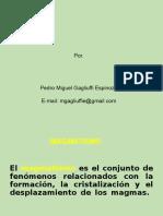 Alteraciones Hidrotermales 1ra clase P.Gagliufi