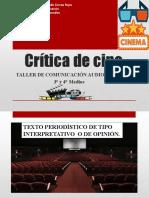 Crítica de Cine