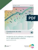 Incidencia de la pobreza y la indigencia - Segundo semestre de 2019 (INDEC)