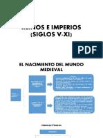 REINOS E IMPERIOS (SIGLOS V-XI).pptx