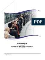 Sample PeopleKeys Assessment
