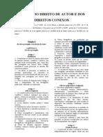 Spa Codigododireitodeautorcdadclei162008