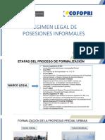 FORMALIZACION DE LA PROPIEDAD INFORMAL -SBN-Dr. Miguel Mandamiento