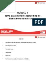 Modulo II _ Tema 1 - Disposición de Inmuebles