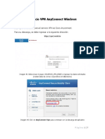 Servicio VPN AnyConnect Windows - ENDE MATRIZ