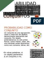 Estadistica DE PROBABILIDADES TEMA CONJUNTOS