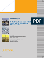 MRR 243 A Study on Commercial Vehicle Speed and its Operational Characteristics