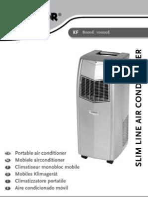 Spiksplinternieuw Instructions Manual KF8000E KF10000E Multilingual 070207   Ac OD-73