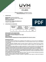 Syllabus Contabilidad Financiera 1
