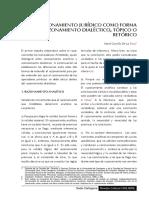 Unidad 1 (Razonamiento) - Carrillo_RAZONAMIENTO JURIDICO DIALECTICA, TOPICA Y RETORICA.pdf