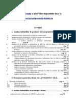 102 Analiza costurilor de productie a firmei (S.C. XYZ S.R.L.)- www.lucrari-proiecte-licenta.ro.doc