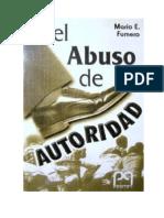 El abuso de Autoridad (Mario Fumero)