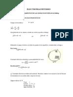 ELECTROMAGNETISMO y análisis vectorial