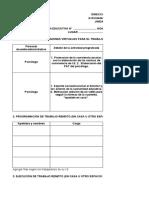 UGEL CHOTA_ TRABAJO  REMOTO REPORTE  DE ACTIVIDADES --DIRECTORES