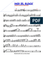 el sonido del silencio trompeta solista