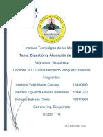 DIGESTION Y ABSORCION DE LIPIDOS