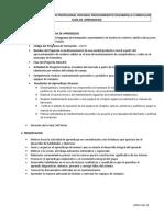 GUIA DE APRENDIZAJE REALIZAR MANTENIMIENTO PREVENTIVO Y PREDICTIVO
