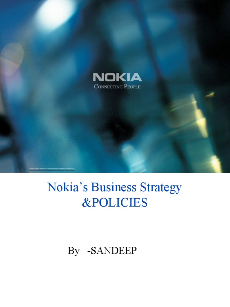 strategy formation and planning of nokia Microsoft will cut the former nokia's engineering and manufacturing, lay off half its staff, and sell productivity.