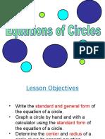 Equations-of-a-Circle