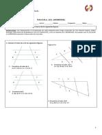adecuacion geometria teorema de tales