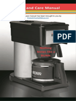 Bunn Coffee Maker User Manual