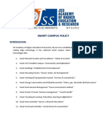 Smart Campus Policy & Action Plan