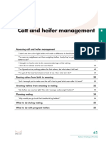 Calf and heifer management The InCalf Book