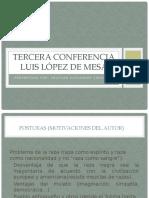 Tercera conferencia Luis López de Mesa