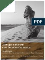12-10 Mujeres saharauis Huesca