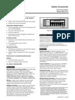 1.6 Caja Montaje para Anunciador Remoto 2975-9206