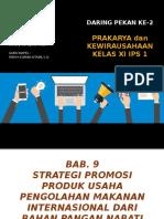 Edisi 2 - Strategi promosi produk usaha pengolahan makanan internasional