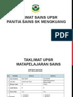 TAKLIMAT SAINS UPSR