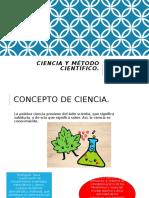 CIENCIA Y MÉTODO CIENTÍFICO.pptx