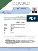 MBA (CV Format) New (1)