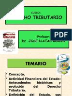 TEMA 01 Introducción, Actividad Financiera del Estado.