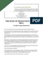 Betancourt, John Gregory - The Duke of Demolition Goes to Hell
