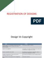 Designs - Registration