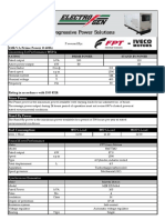 100 kVA Specification Sheet