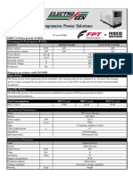 125 kVA Specification Sheet