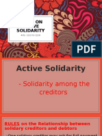 OBLICON - Rules on active and passive solidarity