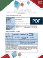 Guía de actividades y rúbrica de evaluación - Fase 2 - Realizar Análisis Crítico (1)